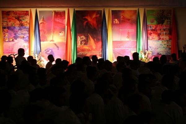 Day 1 - National Kishore-Kishori Summer Shibir  - A colourful exhibit produced by the kishores