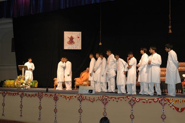 Interactive presentations conveying the message of Swaminarayan Sanskruti