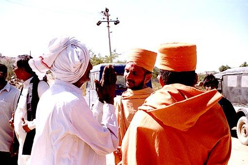 ... and spiritual healing by the sadhus.