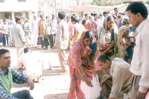 Recent Pictures from BAPS Relief Camp, Bhuj  -