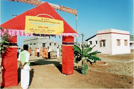 Chief Minister of Gujarat visits Ukhadmora