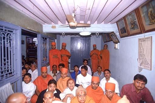 Interior of Shastriji Maharaj's birth place