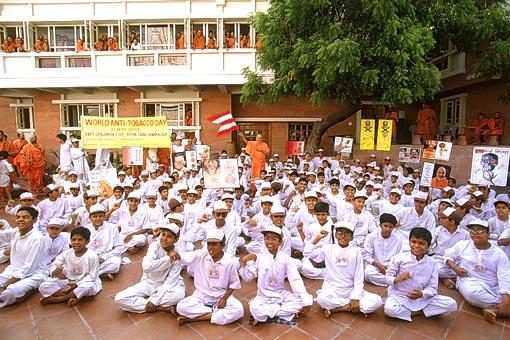 Recognizing the efforts of children on 'World Anti-Tobacco Day'