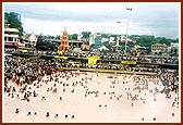 BAPS Services At Kumbh Mela, Nasik, Maharashtra, India