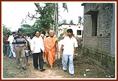 Orissa Flood Relief 2001