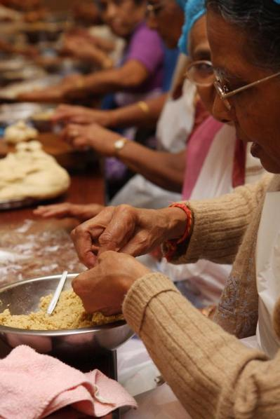 Diwali Celebrations at BAPS Shri Swaminarayan Mandir, London,2009 -
