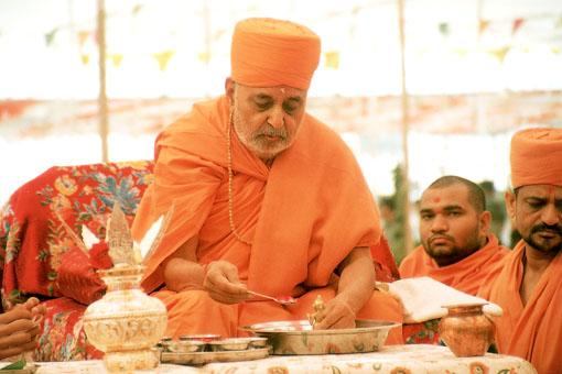 Yagna for World Peace, 1 Dec 2000