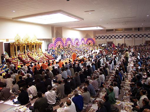 Annakut Celebration with Swamishri, Chicago, USA