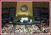 29 August 2000, Inaugural Session, Peace Summit, UN