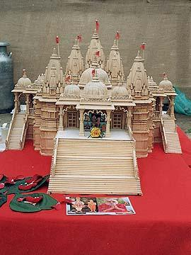Mandir in the making