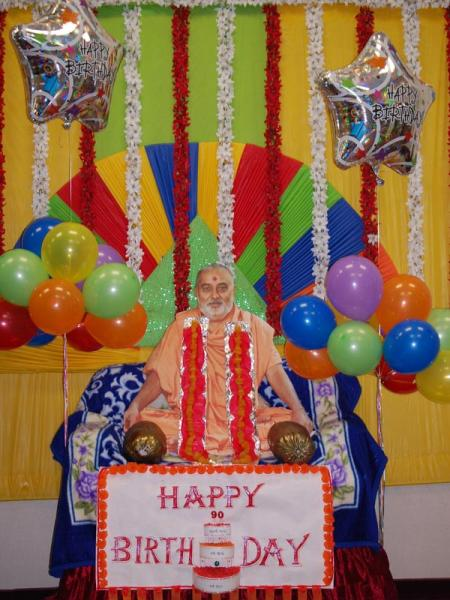 Pramukh Swami Maharaj's 90th Birthday Celebration<br>Jackson -