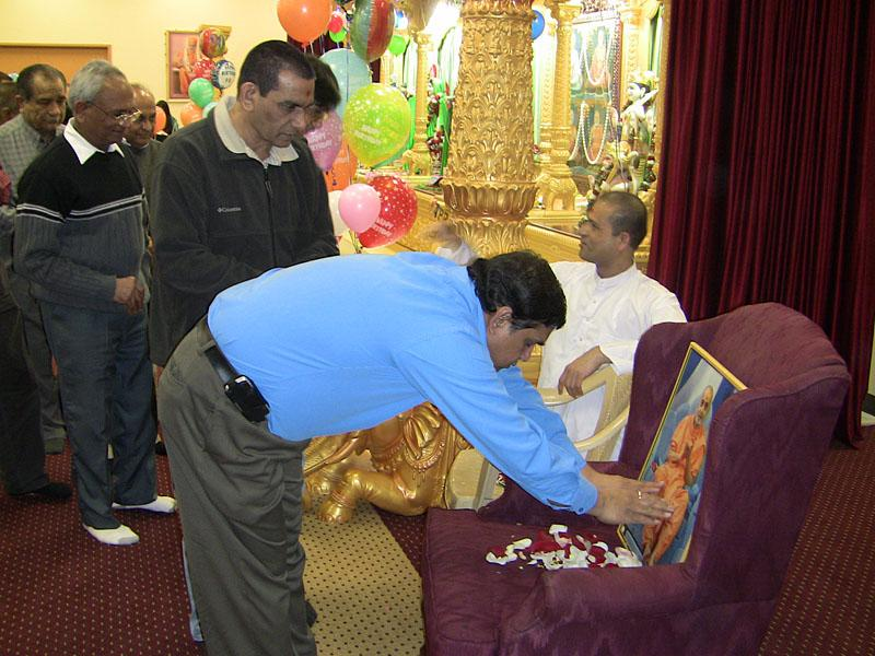 Pramukh Swami Maharaj's 90th Birthday Celebration<br>Albany -