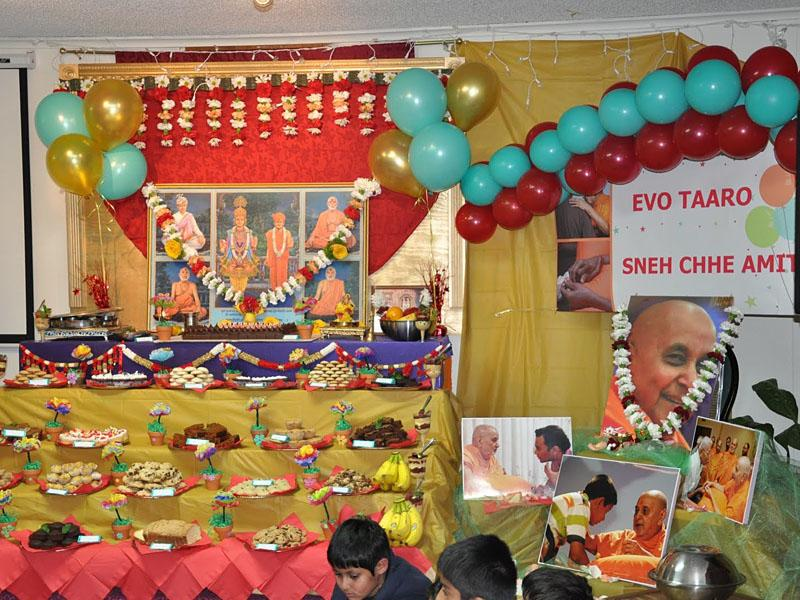 Pramukh Swami Maharaj's 90th Birthday Celebration<br>Memphis -