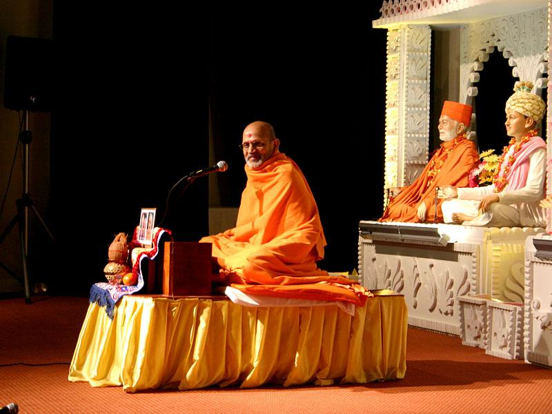 Pramukh Swami Maharaj's 90th Birthday Celebration<br>Parsippany -