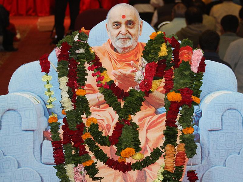 Pramukh Swami Maharaj's 90th Birthday Celebration<br>San Jose -