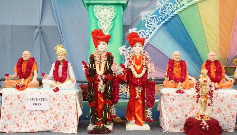 Murtis to be consecrated at BAPS Swaminarayan Mandirs at Leicester, Tzaneen, Arusha, Tanga and Cape Town