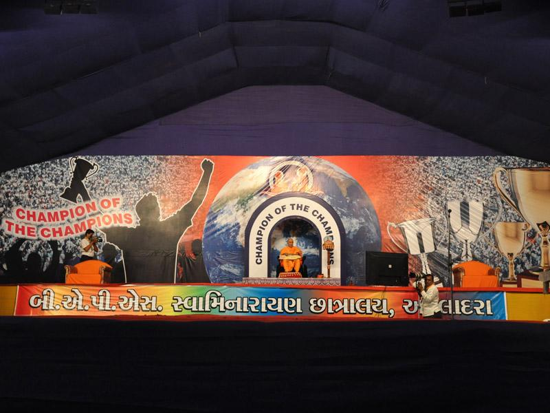 Annual Day celebration of BAPS Swaminarayan Chhatralay, Atladra