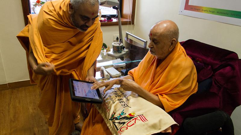 Swamishri sanctifies KUC program