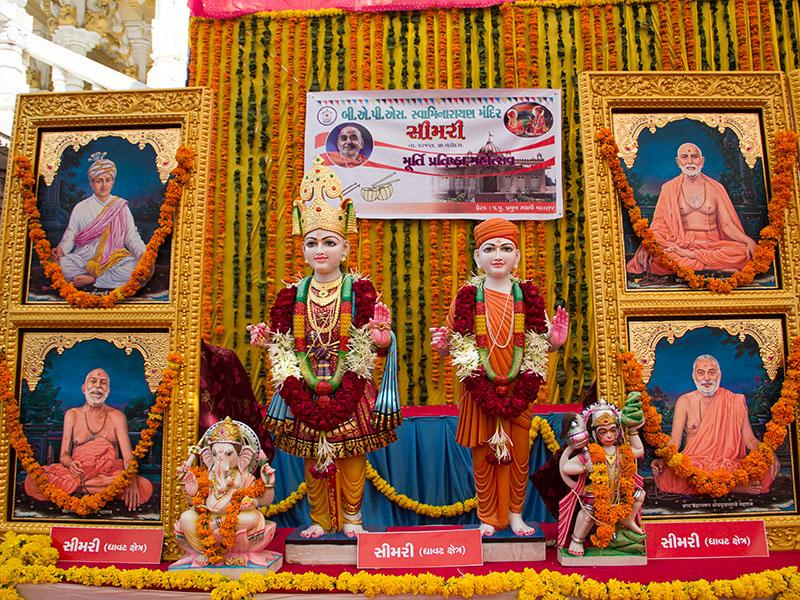 Murtis to be consecrated at BAPS Shri Swaminarayan Mandir in Simri