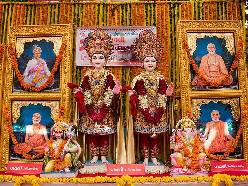 Murtis to be consecrated at BAPS Shri Swaminarayan Mandir in Vavli