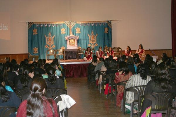 """Mother and Daughter – A Sacred Bond""  Kishori Mandal Parents' Evening"