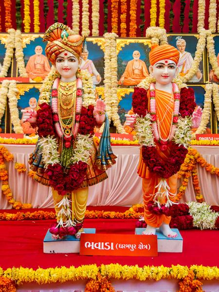 Murtis to be consecrated at BAPS Shri Swaminarayan Mandir at Bhavada, India