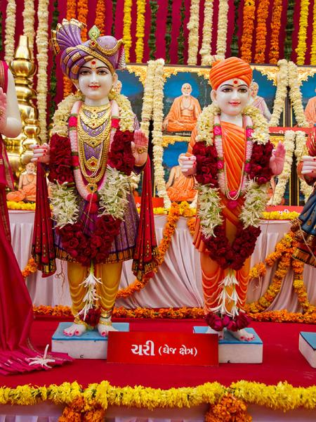 Murtis to be consecrated at BAPS Shri Swaminarayan Mandir at Chari, India