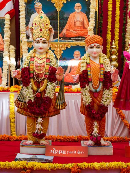 Murtis to be consecrated at BAPS Shri Swaminarayan Mandir at Goyma, India