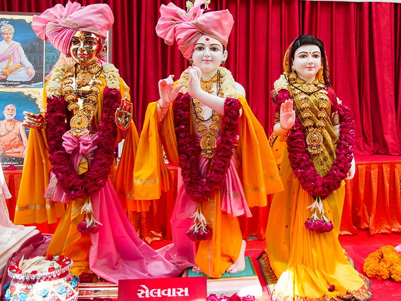 Shri Harikrishna Maharaj and Shri Radha-Krishna Dev's murtis to be consecrated at BAPS Shri Swaminarayan Mandir at Selvas, India