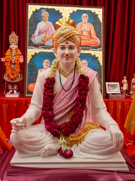 Shri Bhagatji Maharaj's murti to be consecrated at BAPS Shri Swaminarayan Mandir at Selvas, India