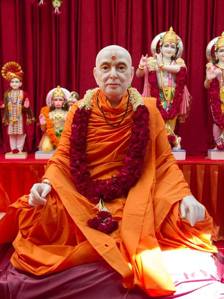 Shri Pramukh Swami Maharaj's murti to be consecrated at BAPS Shri Swaminarayan Mandir at Selvas, India