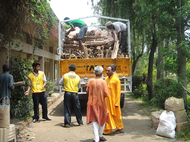 Relief materials reach Uttarakhand, July 11
