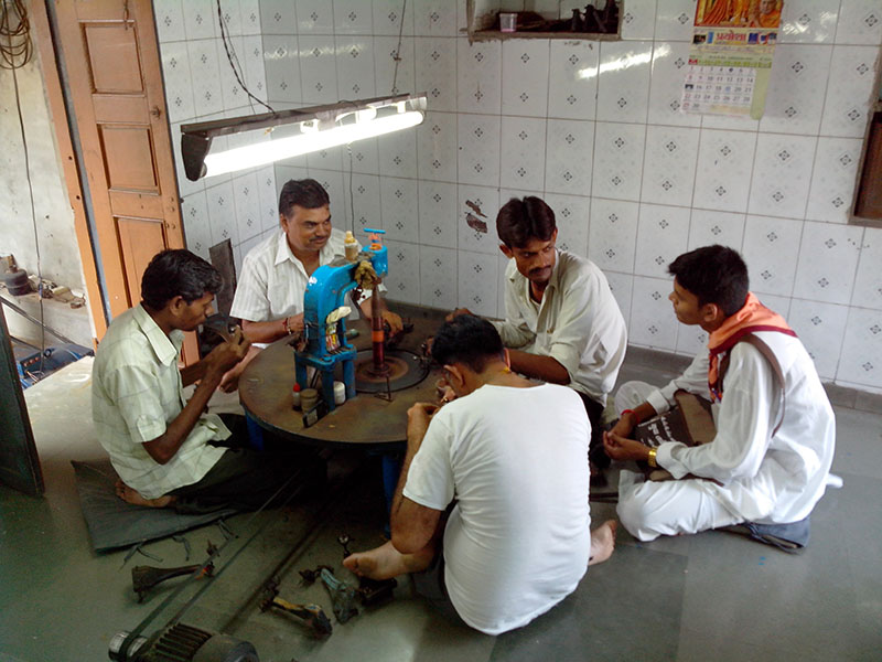 De-addiction drive - encouraging villagers to give up substances like alcohol and tobacco, to lead healthier and better lives