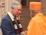 Royal Visit to Swaminarayan Akshardham