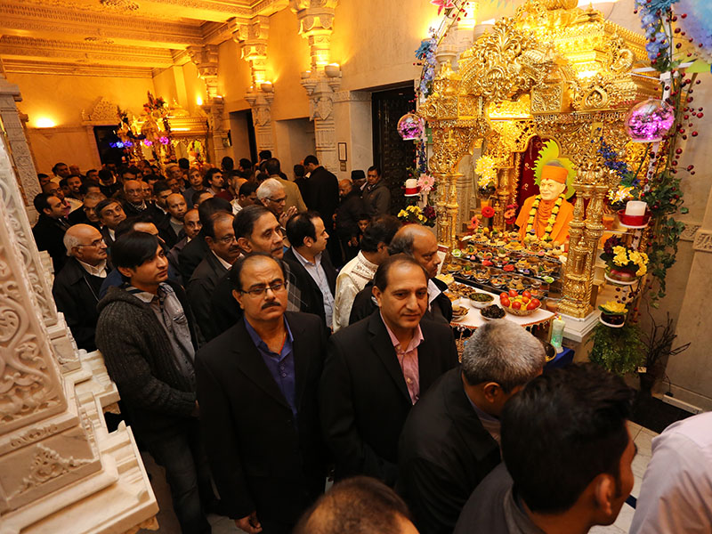 Annakut Celebrations, London