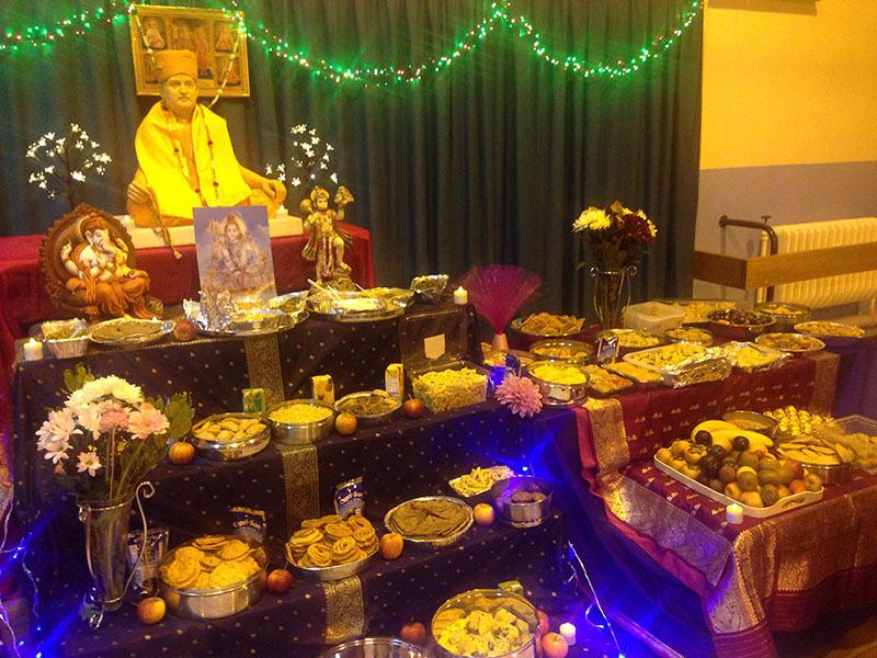 Annakut Celebrations, Swindon
