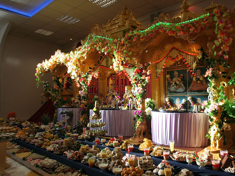 Annakut Celebrations, Luton