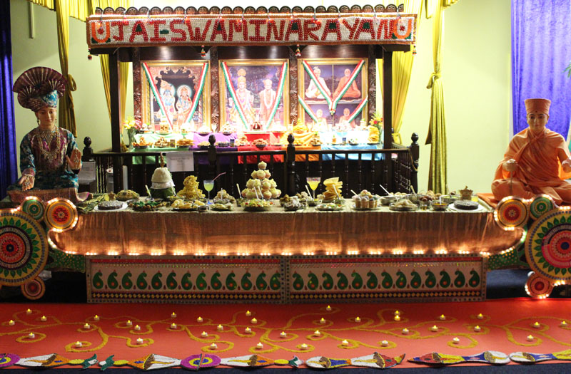 Annakut Celebrations, Loughborough