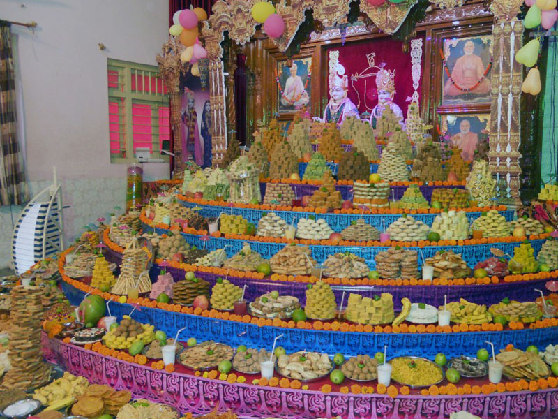 Annakut Celebrations, Porbandar