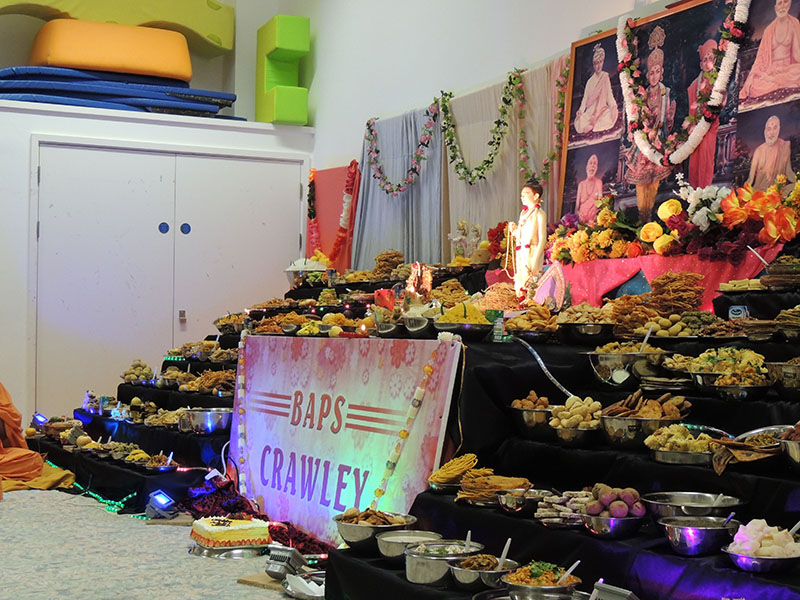 Annakut Celebrations, Crawley