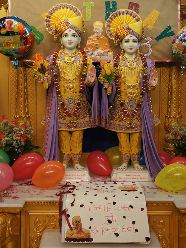 Pramukh Swami Maharaj's 93rd Birthday Celebration, Atlantic City, NJ