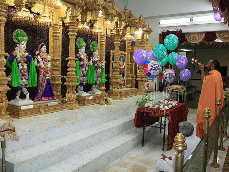 Pramukh Swami Maharaj's 93rd Birthday Celebration, Clifton, NJ