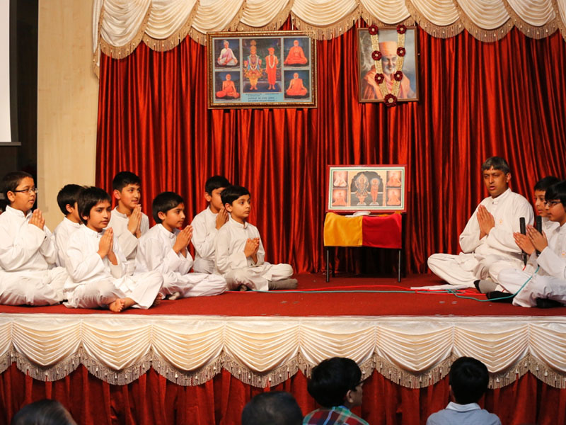 Pramukh Swami Maharaj's 93rd Birthday Celebration, Wellingborough