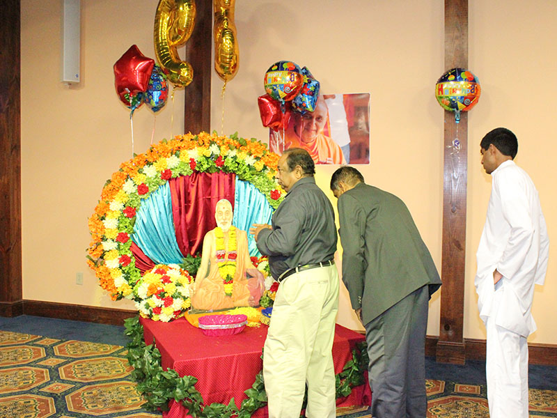 Pramukh Swami Maharaj's 93rd Birthday Celebration, Orangeburg, SC