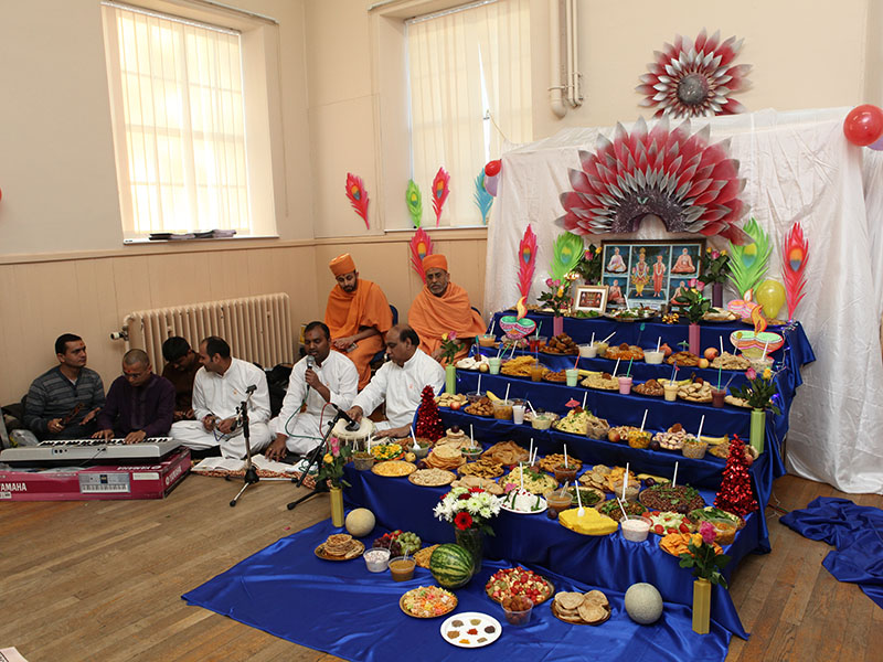 Annakut Celebrations, Aberdeen