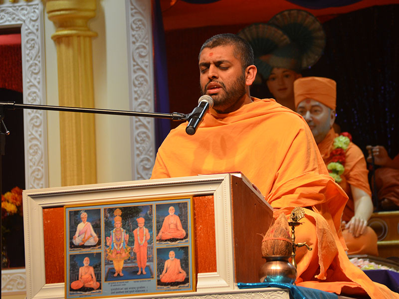 Pramukh Swami Maharaj's 93rd Birthday Celebration, Philadelphia, PA