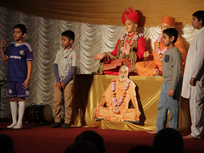 Pramukh Swami Maharaj's 93rd Birthday Celebration, Coventry