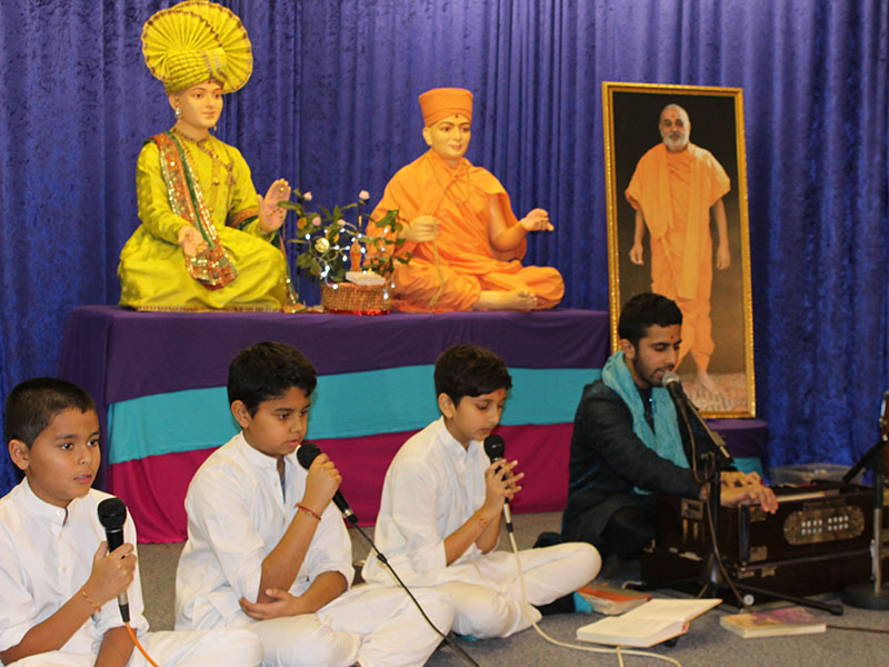Pramukh Swami Maharaj's 93rd Birthday Celebration, Loughborough