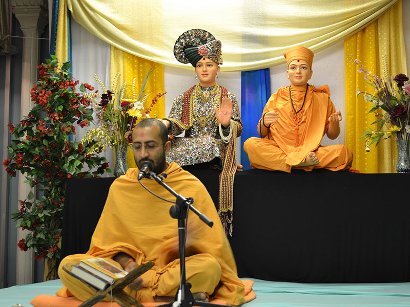 Pramukh Swami Maharaj's 93rd Birthday Celebration, Nottingham