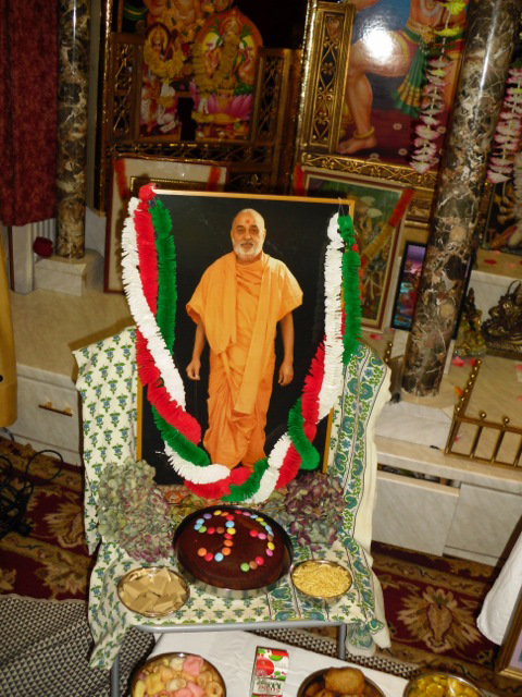 Pramukh Swami Maharaj's 93rd Birthday Celebration, Vienna
